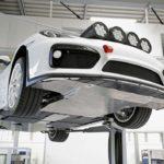 Porsche Cayman GT4 - przód i podwozie