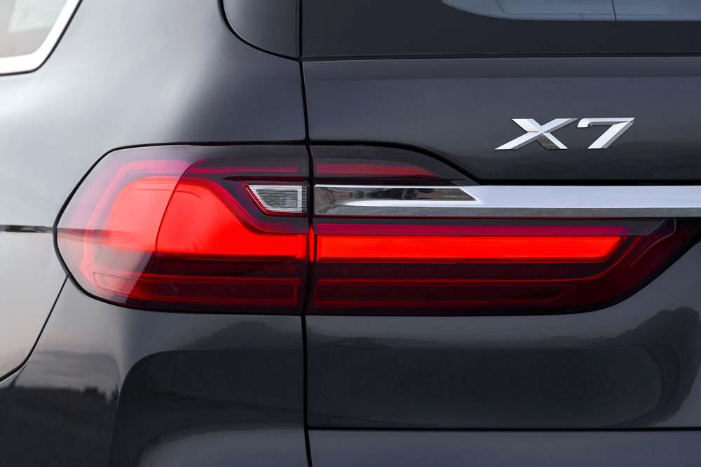 BMW X7 tył