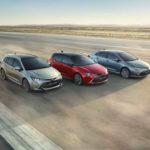 Toyota Corolla sedan, hatchback i kombi