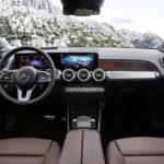 Mercedes GLB - wnętrze