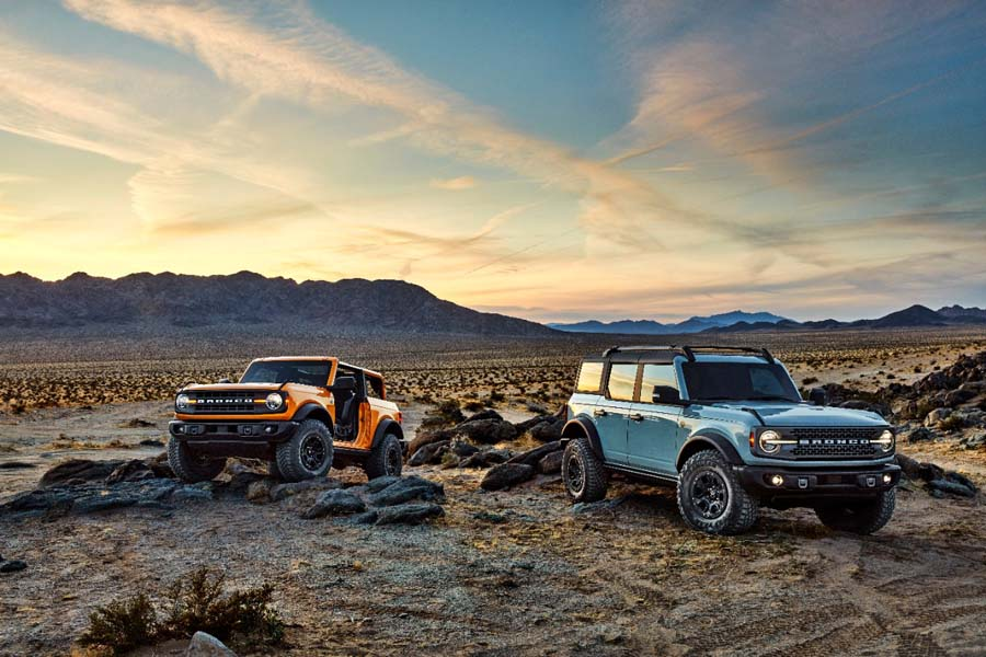 Nowy Ford Bronco