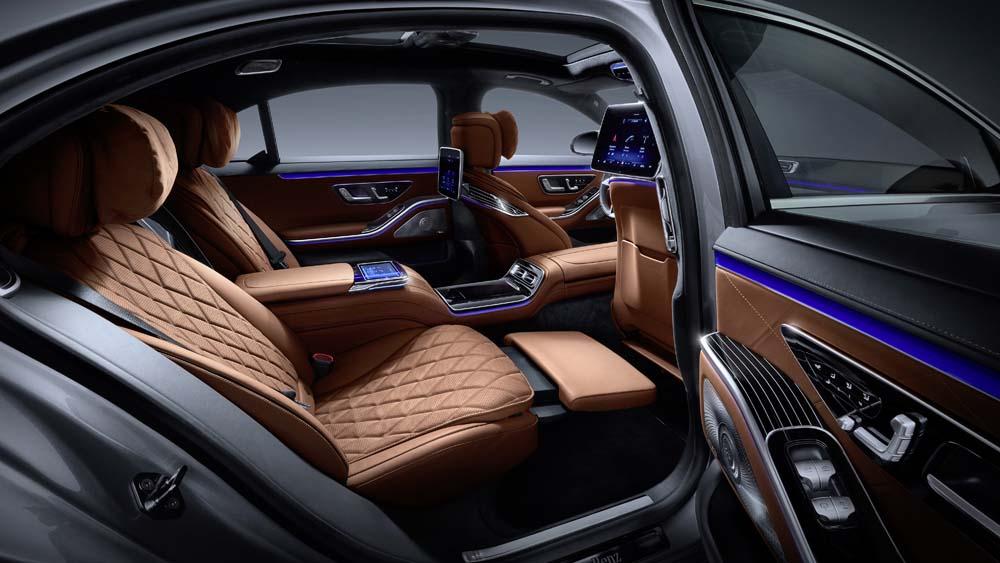 Mercedes-Benz S-Klasa, 2020, wnętrze