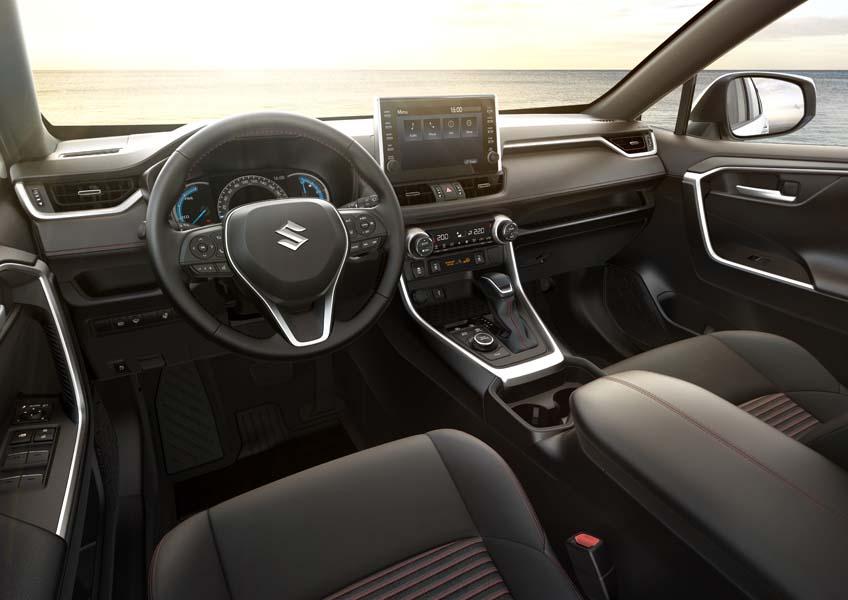 Suzuki Across wnętrze